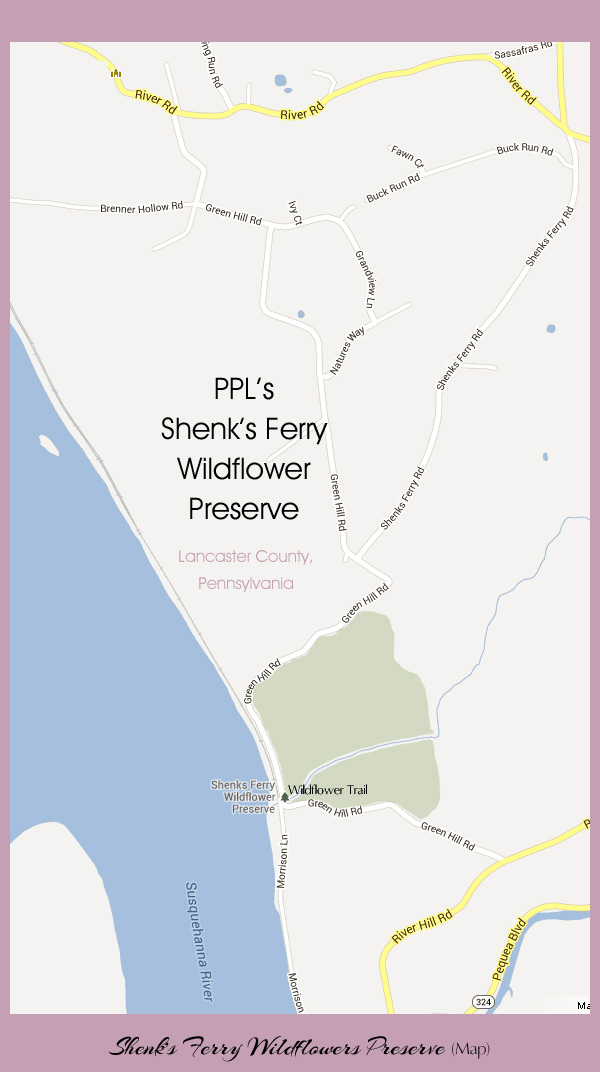 Shenks Ferry Map